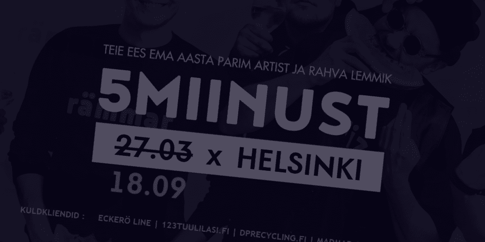 Finest FM: 5miinust Live